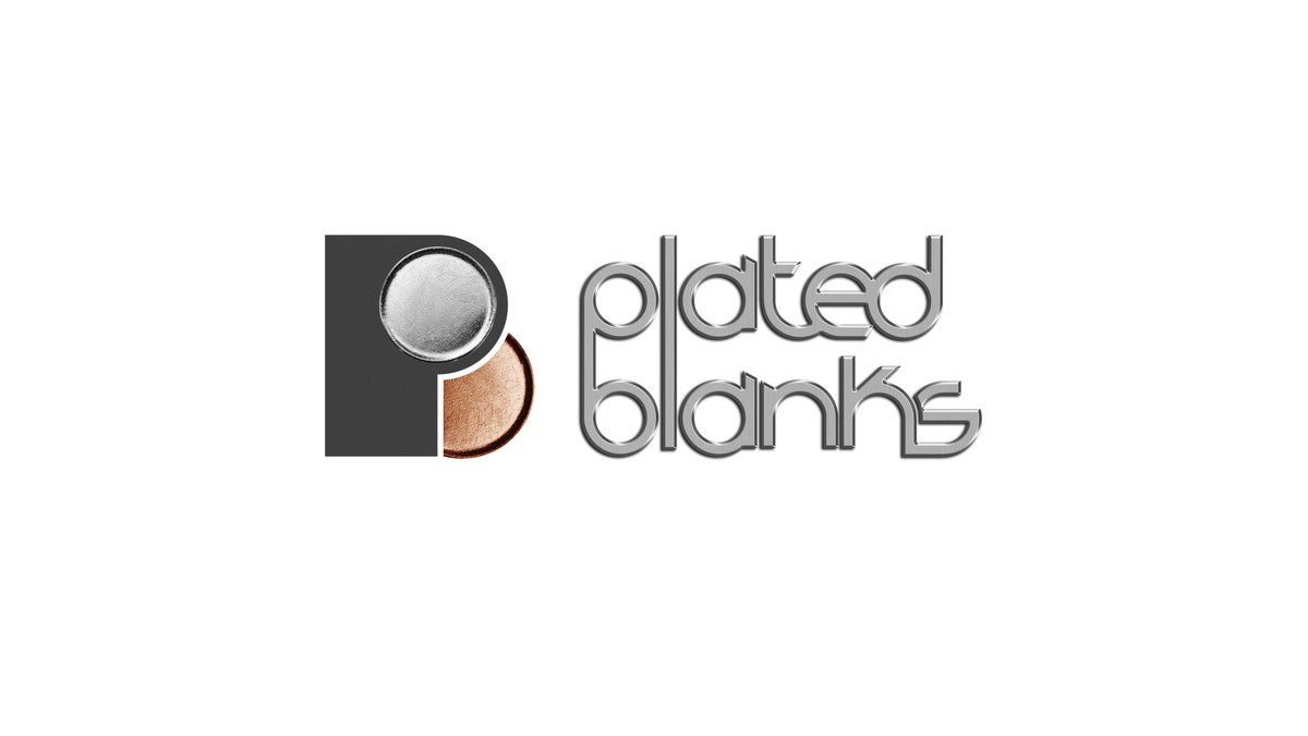 Plated blanks logo